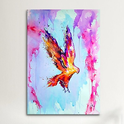 iCanvas Hyperion (1) by Marc Allante Painting Print on Wrapped Canvas; 26'' H x 18'' W x 0.75'' D