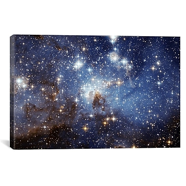 iCanvas ''LH-95 Stellar Nursery'' Graphic Art on Wrapped Canvas; 12'' H x 18'' W x 1.5'' D