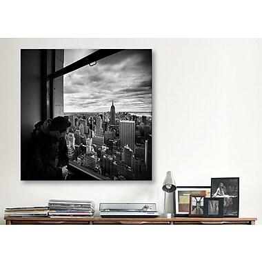 iCanvas New York City Manhattan View by Nina Papiorek Photographic Print on Canvas