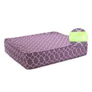 eLuxurySupply Purple 5  Thick Soft/Firm Reversible Gel Memory Foam Orthopedic Dog Bed