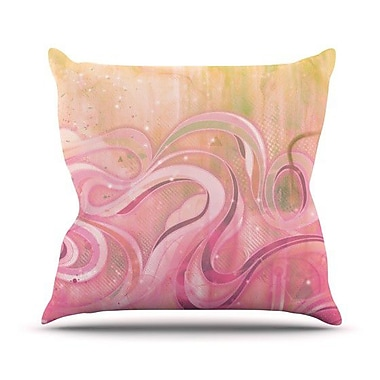 KESS InHouse Cascade Outdoor Throw Pillow; 26'' H x 26'' W x 4'' D