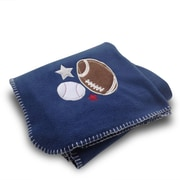 Beco Home Football/Baseball Fleece Blanket