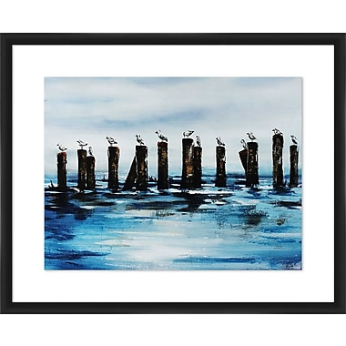 PTM Images The Lineup Framed Painting Print