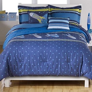 Beco Home Rocket Comforter Set; Twin