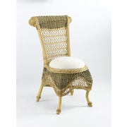AA Importing Side Chair; Natural