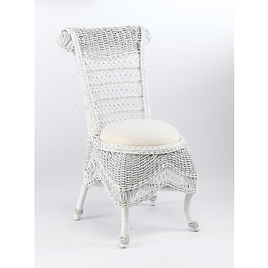 AA Importing Side Chair; White