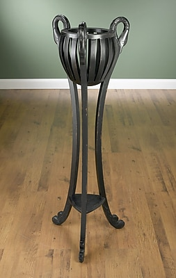 AA Importing Plant Stand; Black