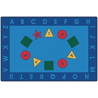 Carpets for Kids Value Plus Early Learning Area Rug; 6' x 9'