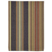 Traders and Company Prairie Dishtowel (Set of 6); Brown / Blue