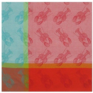 Traders and Company Lobster Pound 100pct Cotton Tablecloth