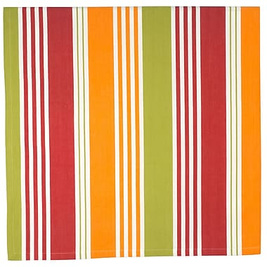 Traders and Company Belize 100pct Cotton Striped Tablecloth