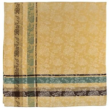 Traders and Company Portofino 100pct Cotton Wheat Jacquard Tablecloth