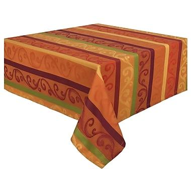 Traders and Company Zamora 100pct Cotton Striped Jacquard Tablecloth
