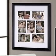 AdecoTrading 7 Opening Decorative Bulletin Board Style Wall Hanging Picture Frame
