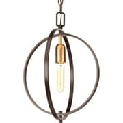 Progress Lighting Swing 1-Light Globe Pendant