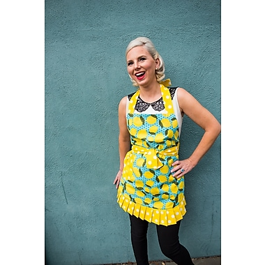 Simply Whimsical Cotton Lemon Cora Apron