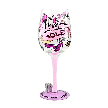 Top Shelf Diva Wine Glass