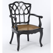 AA Importing Cane Seat Arm Chair