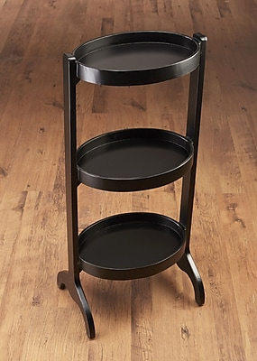 AA Importing Multi-Tiered Plant Stand; Black