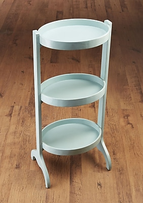 AA Importing Multi-Tiered Plant Stand; Blue