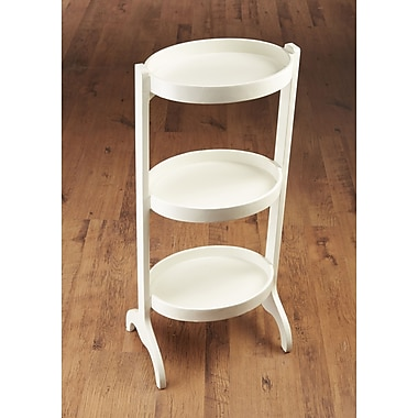 AA Importing Multi-Tiered Plant Stand; White