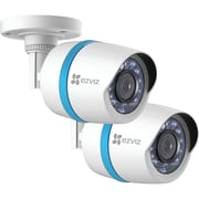 Ezviz Bc-122a 1080p Weatherproof Poe Bullet ip Camera With 100ft Network Cable, 2 Pk
