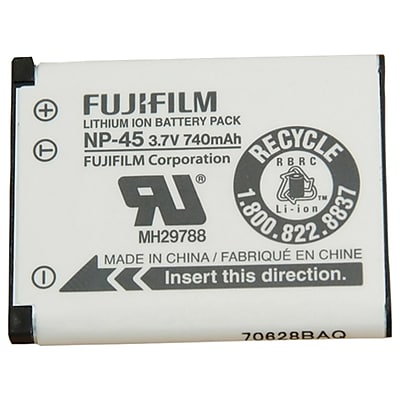 FUJiFiLM 16437322 NP45S Li-ion Rechargeable Battery