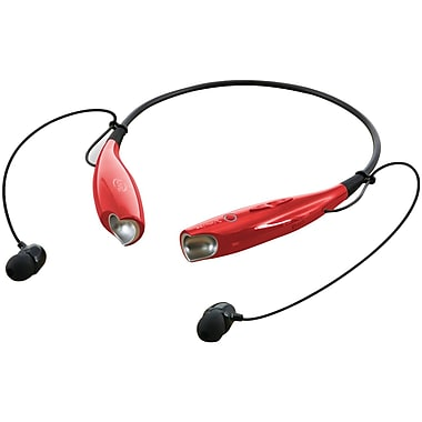 iLive Bluetooth Neckband And Earbuds, Red (GPXIAEB25R)