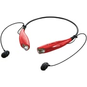 iLive Bluetooth Neckband Earbuds, Red (IAEB25R)