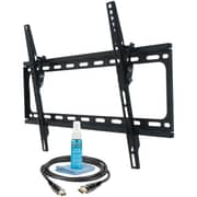 """MONSTER MT643 30""""-65"""" Large Tilt Mount with HDMi Cable & Screen Cleaner"""