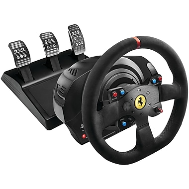 Thrustmaster – Volant de course Ferrari Alcantara Edition pour Playstation 4 et PlayStation 3/PC (TMST4169082)