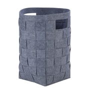 Honey Can Do Woven Felt Hamper, Gray (HMP-04888)