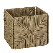 Honey Can Do Woven Folding Seagrass Basket, Brown (STO-03666)