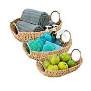 Honey Can Do Oval Water Hyacinth Basket Set (STO-04467)