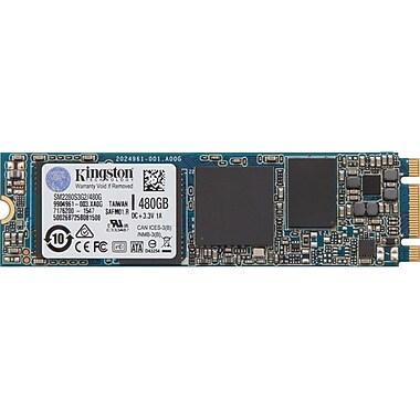 Kingston SSDNow 480 GB Internal Solid State Drive, SATA, 550 MB/s Maximum Read Transfer Rate, (SM2280S3G2/480G)