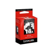 Lexmark™ #14A Ink Cartridge, Black, 175 Page (18C2080)