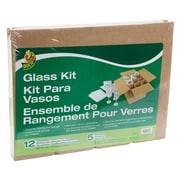 "Duck® Glass Kit Moving Accessories, Fits 16""x12""x12"" Box"