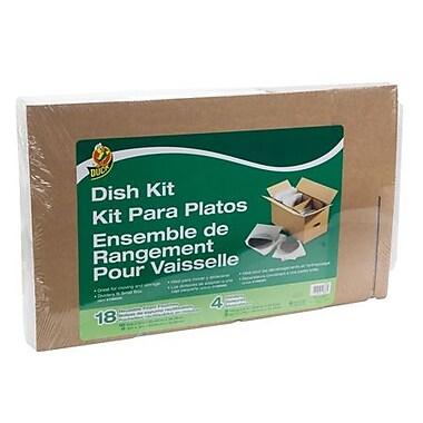 Duck® – Ensemble de rangement pour vaisselle, pour une boîte de 16 po x 12 po x 12 po