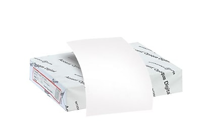 Accent® Opaque 100 lbs. Digital Smooth Paper, 11