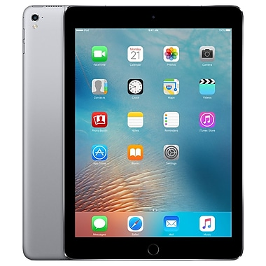 Apple - iPad Pro (MLQ62CL/A) 9,7 po, puce A9X 3e génération, 256 Go, Wi-Fi + Cellular, gris cosmique