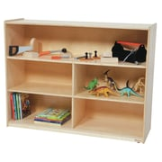 Wood Designs Versatile Shelving Unit w/ Casters