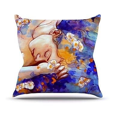 KESS InHouse A Deeper Sleep Throw Pillow; 18'' H x 18'' W