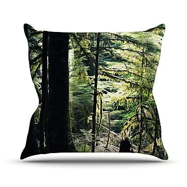 KESS InHouse Enchanted Throw Pillow; 18'' H x 18'' W