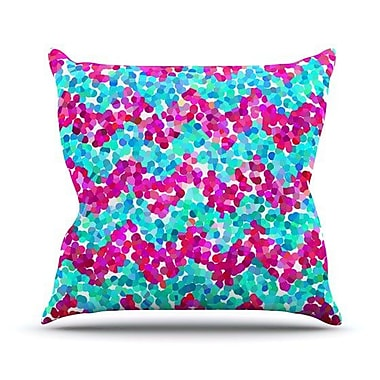 KESS InHouse Scattered by Beth Engel Throw Pillow; 18'' H x 18'' W x 1'' D