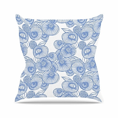 KESS InHouse Eastern Promise by Gill Eggleston Throw Pillow; 26'' H x 26'' W x 1'' D