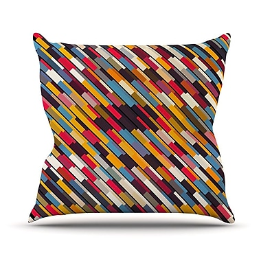 KESS InHouse Texturize by Danny Ivan Throw Pillow; 18'' H x 18'' W x 1'' D