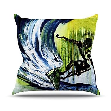 KESS InHouse Greenroom by Josh Serafin Throw Pillow; 26'' H x 26'' W x 5'' D