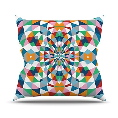 KESS InHouse Modern Day Throw Pillow; 26'' H x 26'' W
