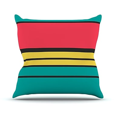 KESS InHouse Simple by Danny Ivan Throw Pillow; 16'' H x 16'' W x 1'' D
