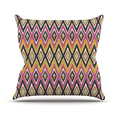 KESS InHouse Sequoyah Tribals by Amanda Lane Throw Pillow; 20'' H x 20'' W x 1'' D